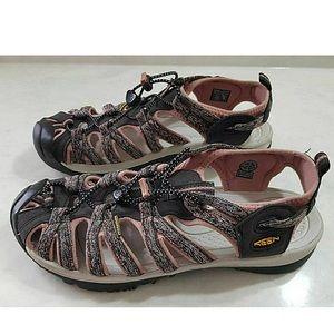 Keen Shoes - Keen Whisper Raven Rose Dawn Hiking Sandals Sz 10